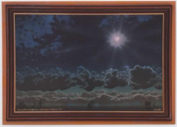 Öl Gemälde Walter Bauer, Dormagen